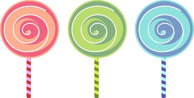 Lollipop clipart free.
