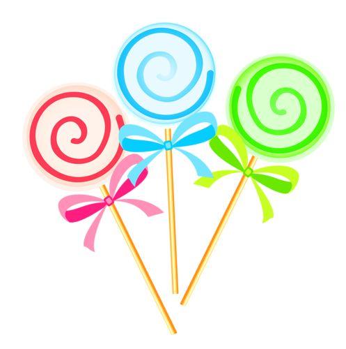 Clip art lollipops and album.