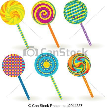 Lollipop Illustrations and Clip Art. 11,537 Lollipop royalty free.
