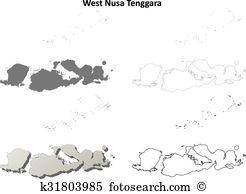 Lombok Clip Art Illustrations. 2 lombok clipart EPS vector.