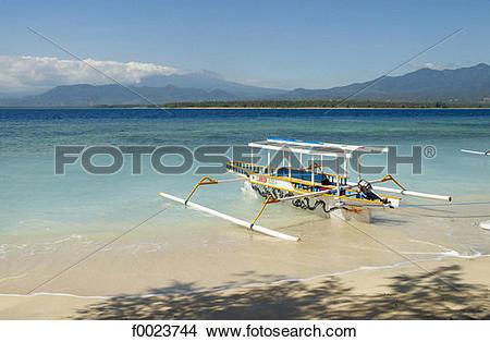Stock Photo of Indonesia, Lombok, Gili Islands, Gili Air.