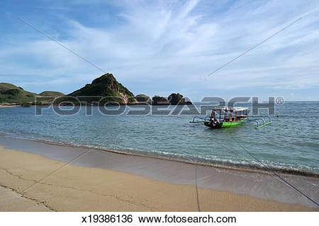 Stock Images of Sheraton Sengigi Beach Lombok x19386136.
