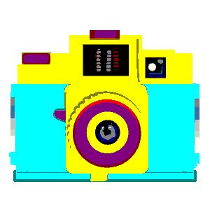 LOMO camera PNG Clipart.
