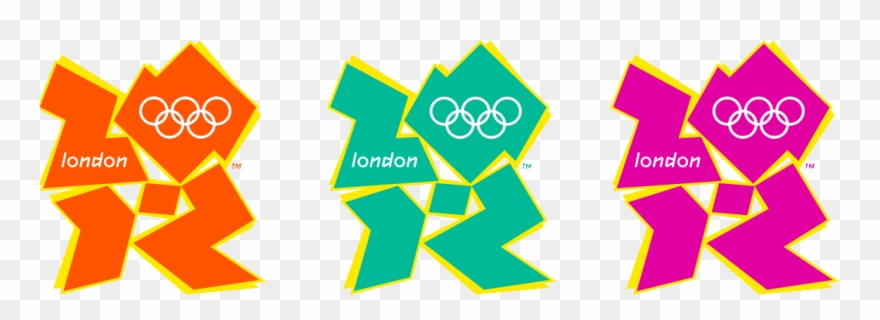 Das London 2012 Logo.