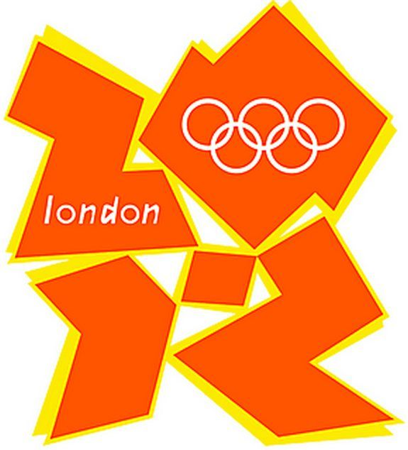 Terrible London Olympics 2012 logo fail.