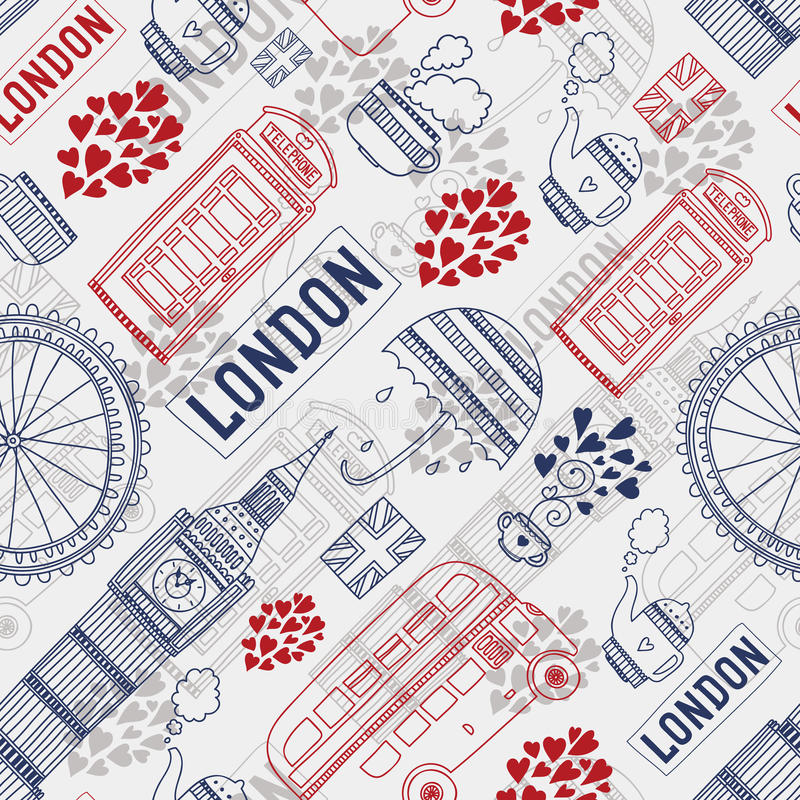London Background Clipart.