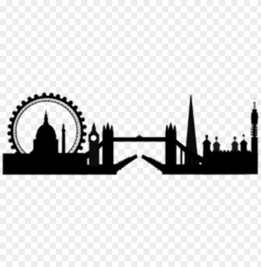 london clipart silhouette.