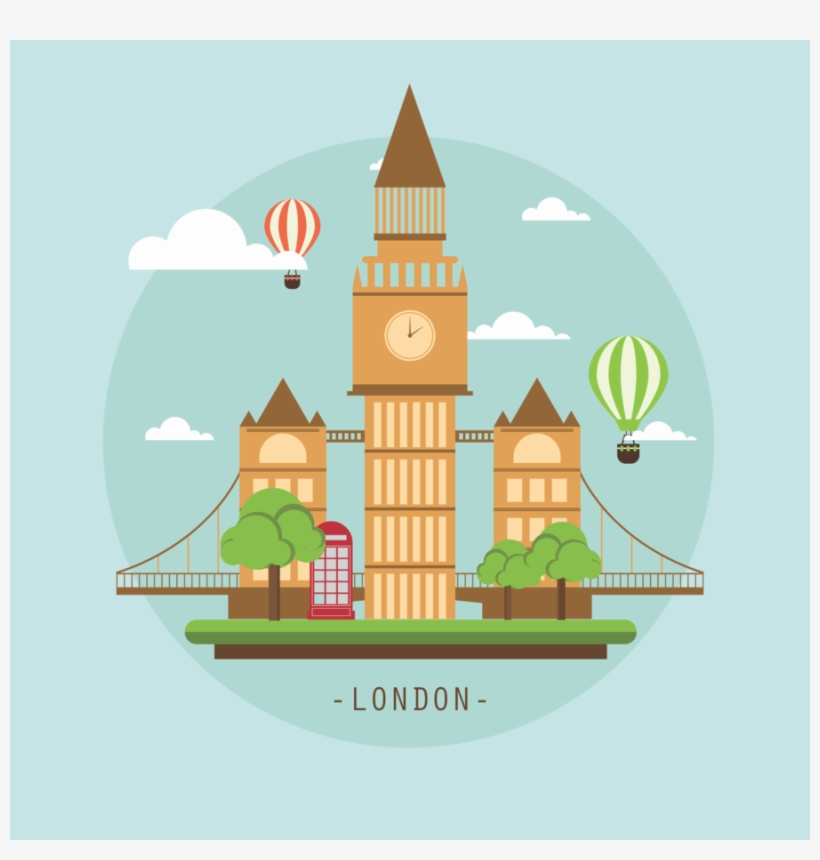 London Background Vector.
