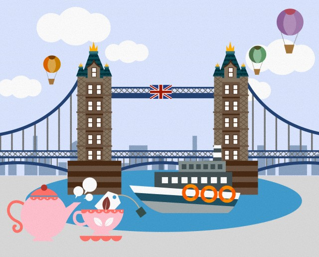 London bridge is falling down clipart.