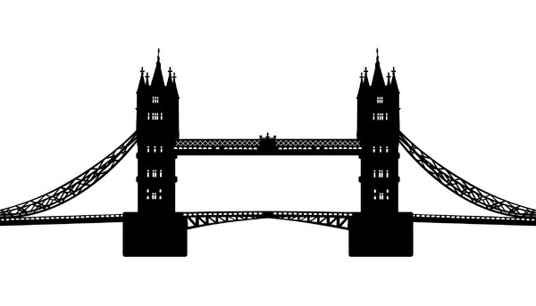 Tower bridge clipart.