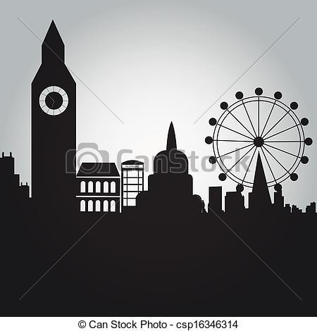 Vector Clip Art of london.