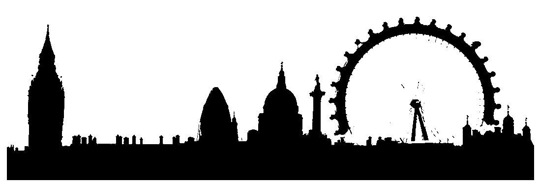 London Buildings Silhouette.