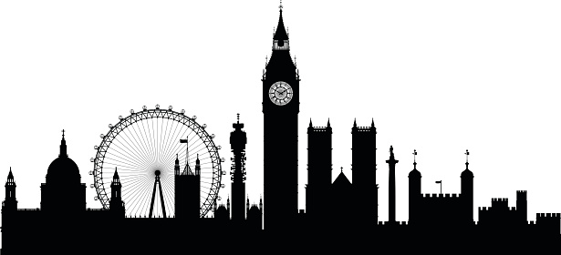 London clipart vector.