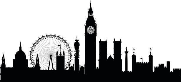 London clipart vector.
