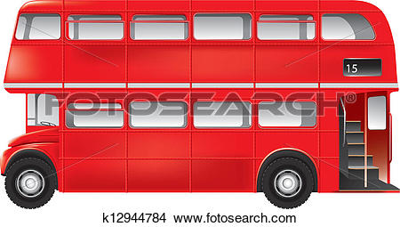 London bus Clipart Illustrations. 1,007 london bus clip art vector.