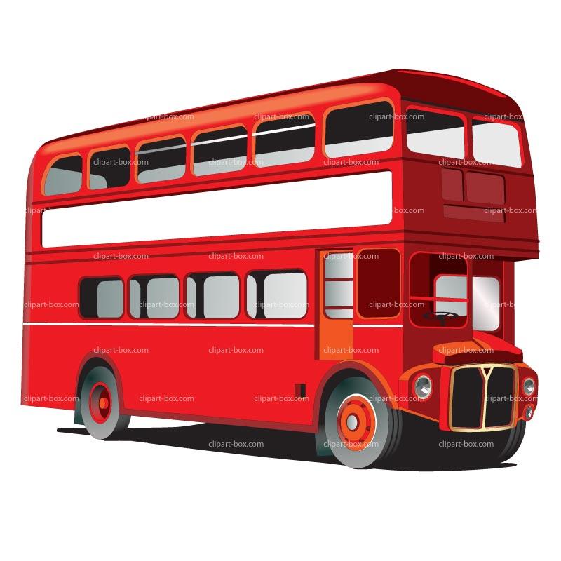 London Bus Clipart.