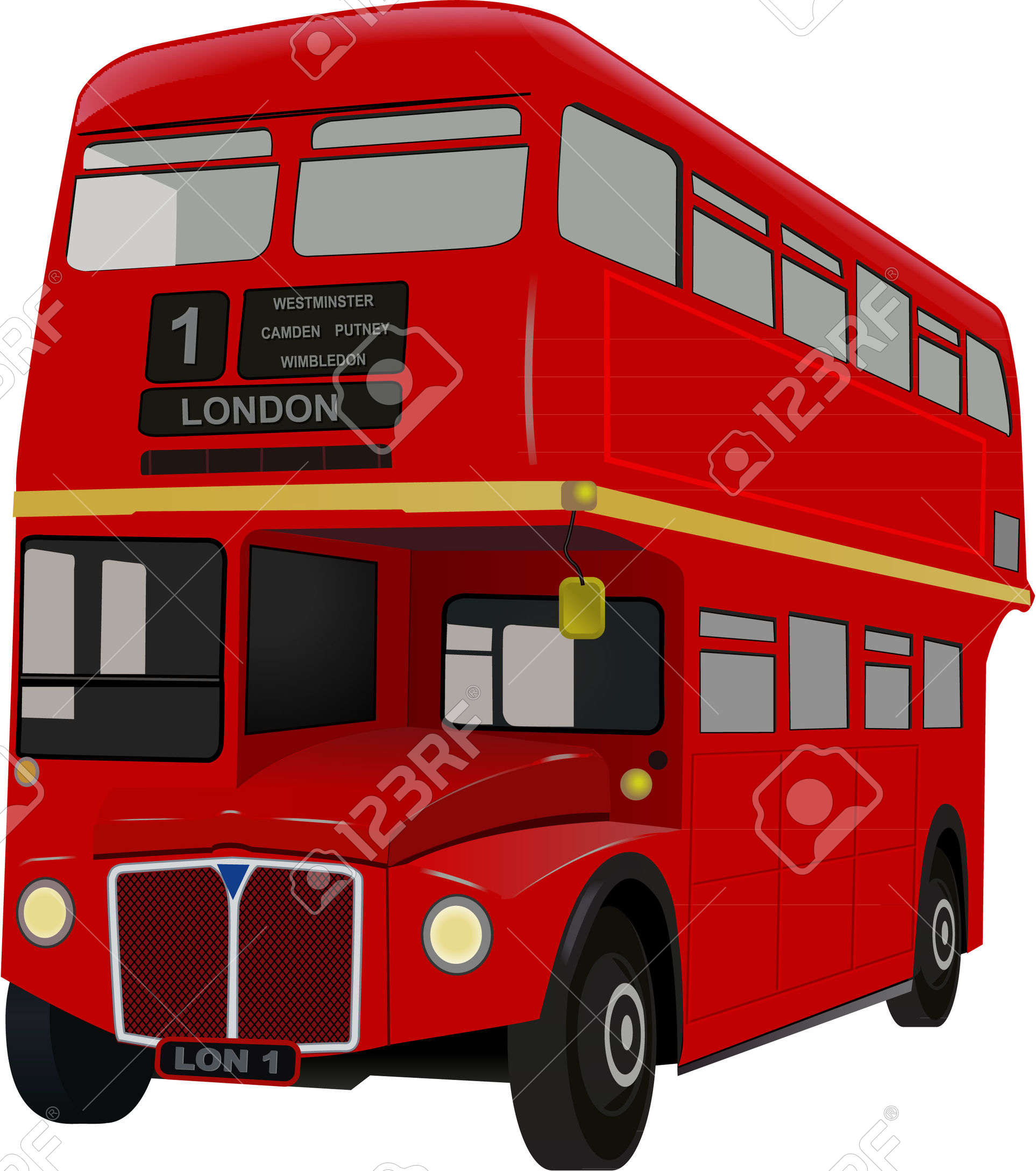 London bus images clip art.