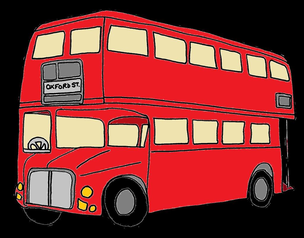 London Clip Art : London bus clipart clipground