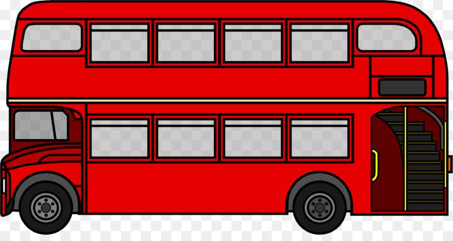 Double Decker Bus AEC Routemaster London Clip Art Clipart.