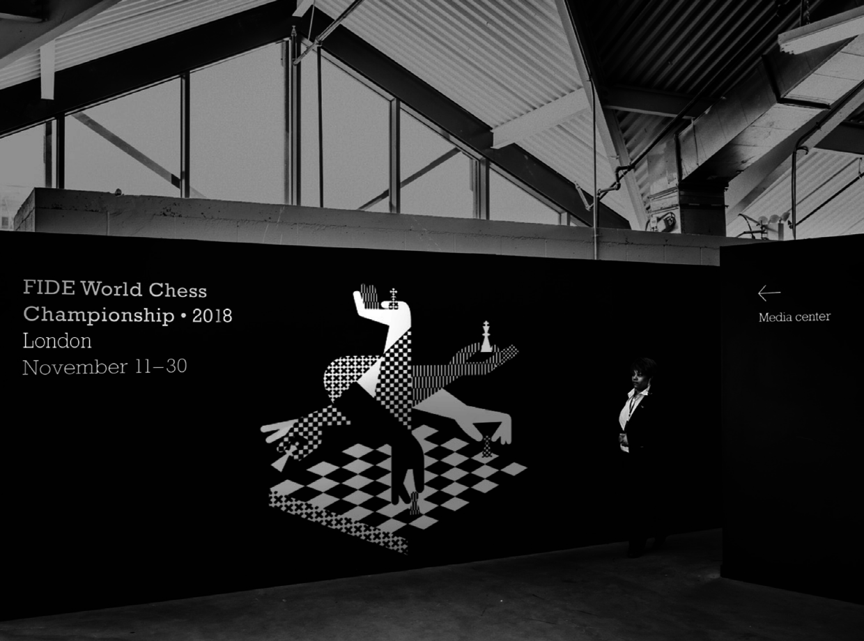 The Logo For The 2018 World Chess Championships Does Not.