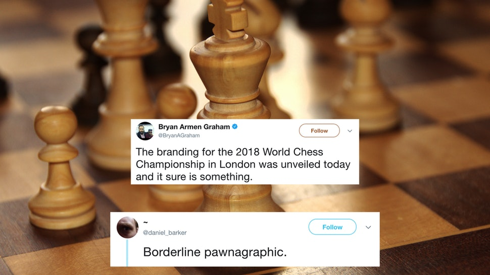 The World Chess Championship Logo For 2018 Looks Super NSFW.