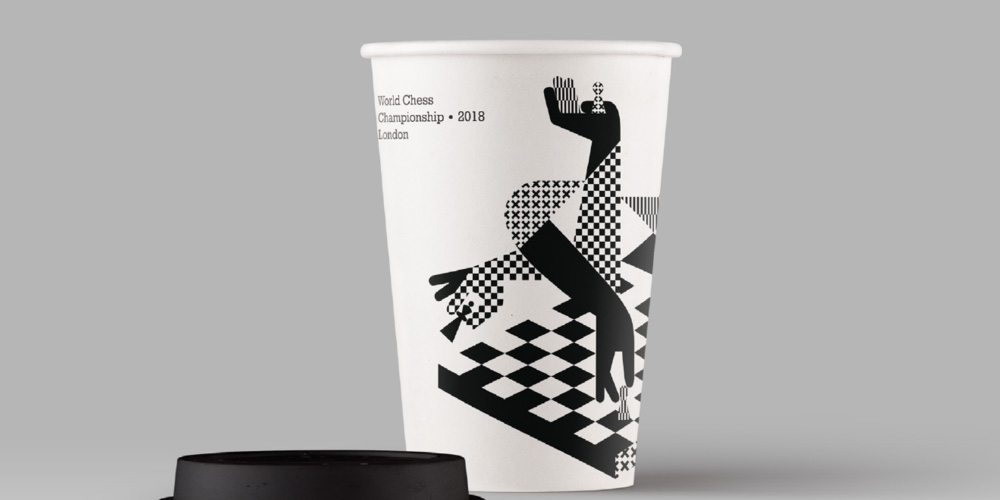 Brand New: New Logo and Identity for 2018 World Chess.