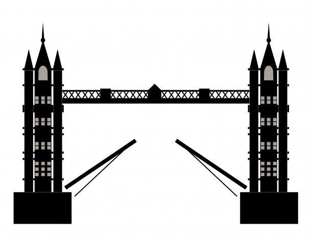 Tower Bridge London Clipart.