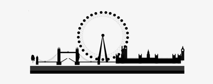 London Skyline Clip Art.
