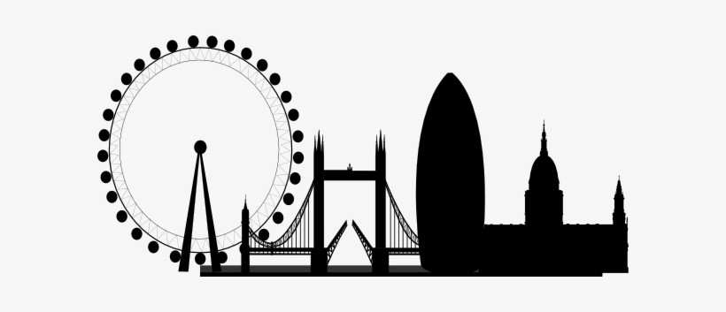 Skyline Clipart Black And White.