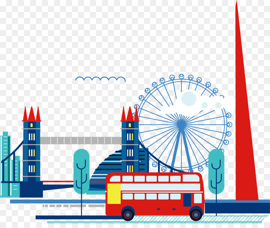 London Cartoon clipart.
