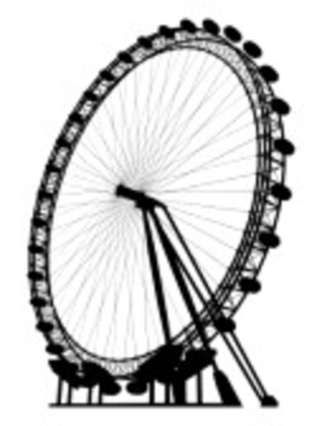 London eye clip art.