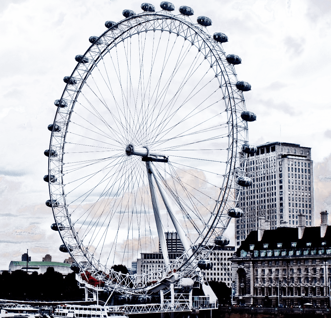 London Eye PNG File.
