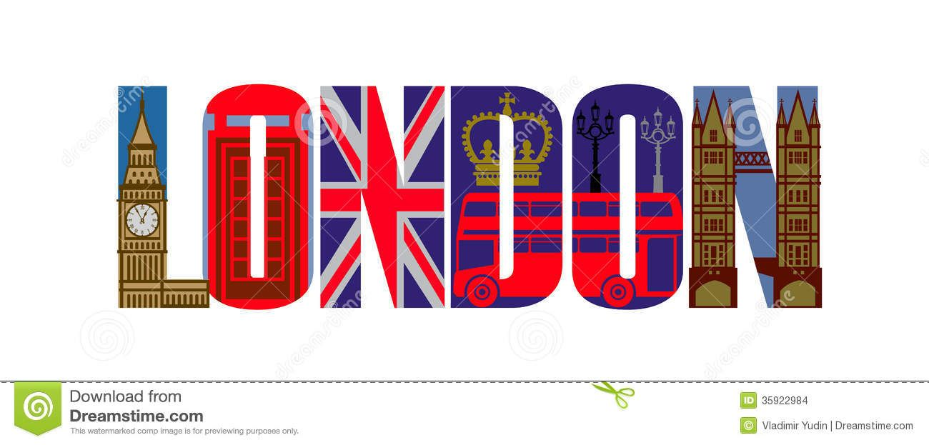 london icons clipart.