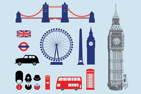 London Icons Clipart Picture Free Download.