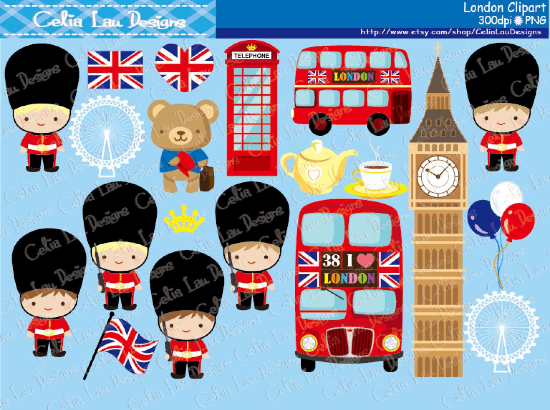 London Keyes Clipart.