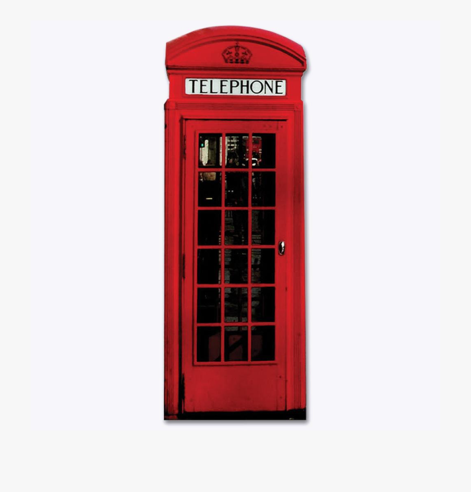 Telephone Booth Png Image Background.