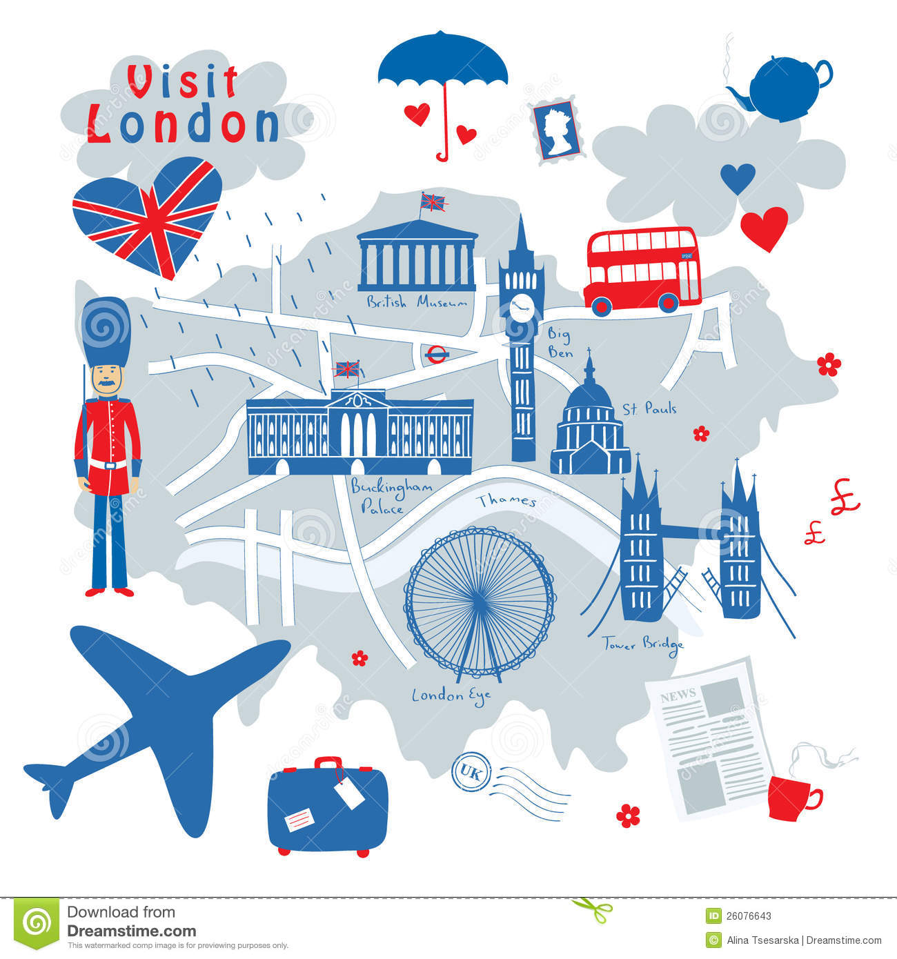 London Stock Illustrations.