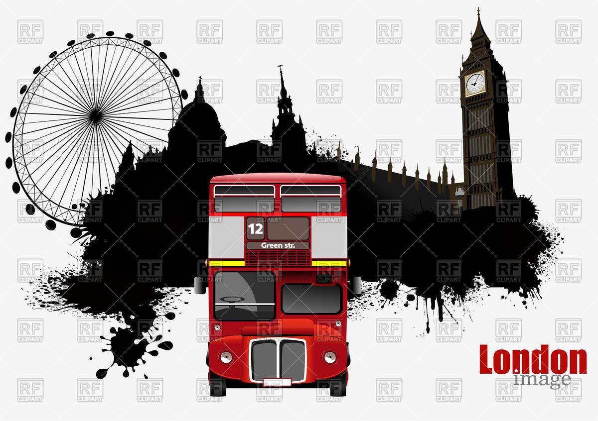 Landmarks of London.