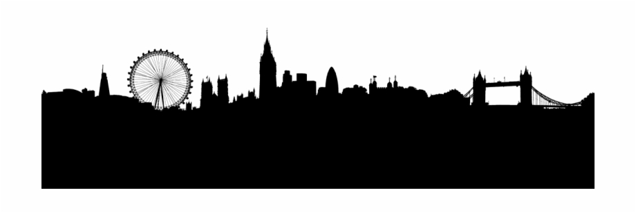 London Silhouette Png.