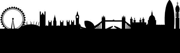 London skyline silhouette clipart images gallery for free.