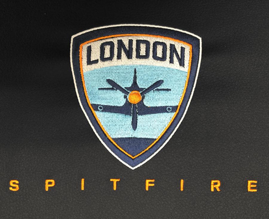 London Spitfire Logo Panel For Stealth Recliner.
