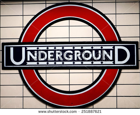 London Underground Sign Stock Photos, Royalty.