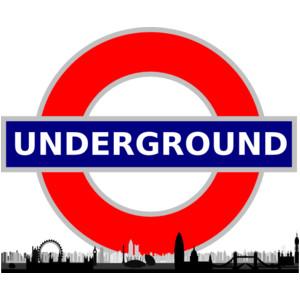 London underground clipart.