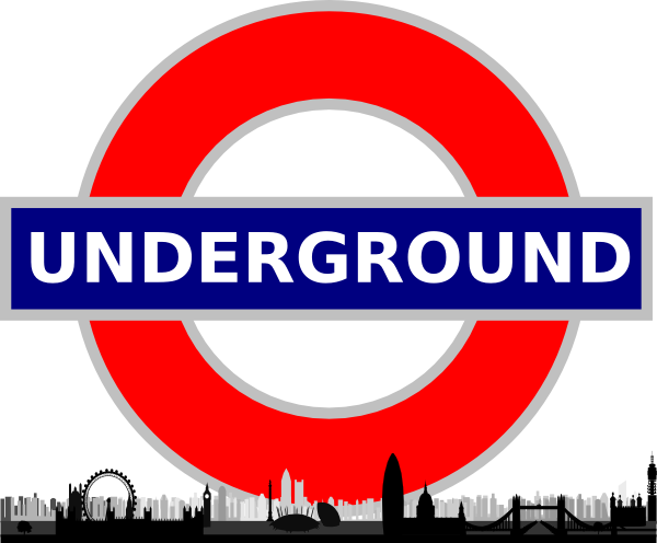 Showing post & media for Cartoon underground sign.