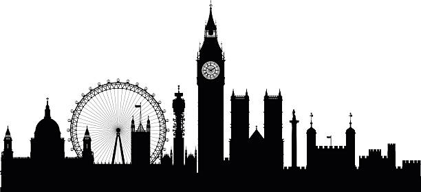 London Skyline Vector at GetDrawings.com.