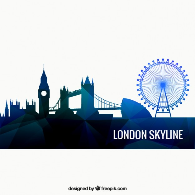 London skyline Vector.