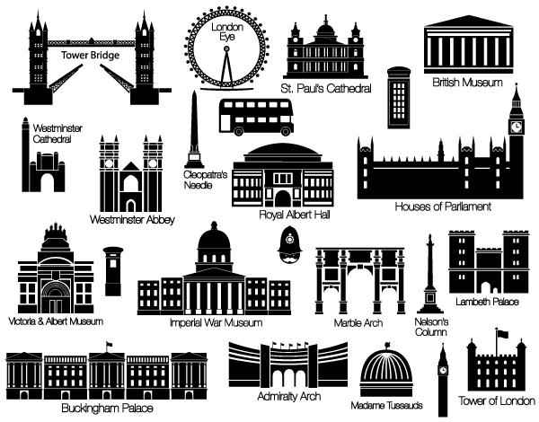 London Vectors Free.
