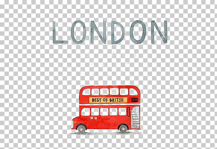 London Autobus de Londres, London PNG clipart.