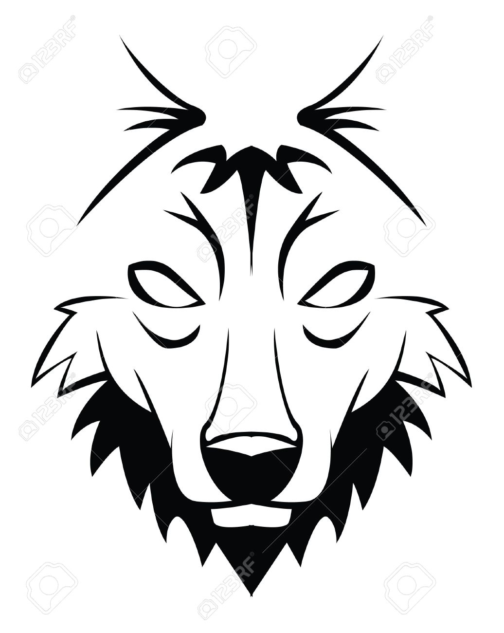 Lone Wolf Clipart.