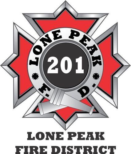 Lone Peak Fire (@lonepeakfire).
